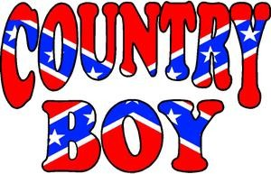 Country boy decal