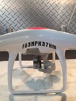 DJI Phantom FAA Registration I.D.